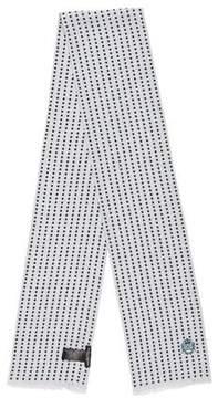 Dolce & Gabbana Polka Dot Print Silk Scarf