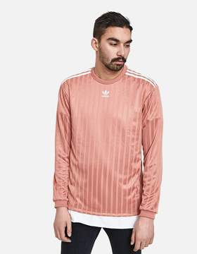 adidas LS Jersey in Ash Pink