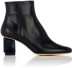 The Row Women's Bowin Leather Ankle Boots