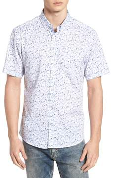 7 Diamonds Mind Gardens Floral Sport Shirt