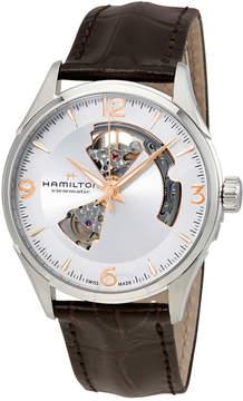 Hamilton Jazzmaster Open Heart Silver Dial Men's Watch