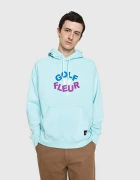Converse Golf Le Fleur Pullover Hoodie in Amazon Blue