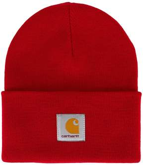 Carhartt logo patch beanie hat