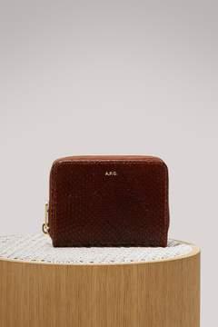 A.P.C. Emmanuelle leather wallet