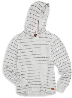 7 For All Mankind Little Boy's Striped Hoodie