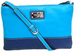 Nine West In The Fold Crossbody two tone