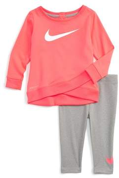 Nike Infant Girl's Dry Tunic & Leggings Set