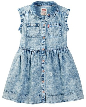 Levi's Posey Acid Wash Dress (Little Girls)