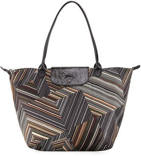 Longchamp Le Pliage Pop Art Large Shoulder Tote Bag