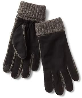 Gap Suede knit smartphone gloves