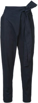Apiece Apart wrapped waist tapered trousers