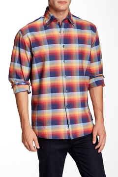James Campbell Lithgow Plaid Shirt