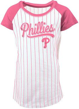 5th & Ocean Philadelphia Phillies Pinstripe T-Shirt, Girls (4-16)