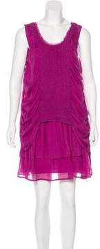 Cacharel Silk Sleeveless Dress