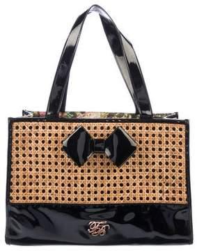 Ted Baker Patent Leather Shoulder Bag
