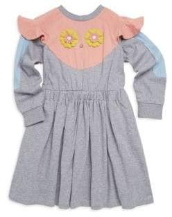 Fendi Toddler's, Little Girl's and Girl's Ruffle Cotton Dress