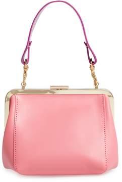 Clare Vivier Le Box Leather Top Handle Bag