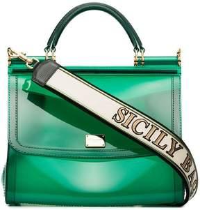 Dolce & Gabbana Transparent Sicily shoulder bag