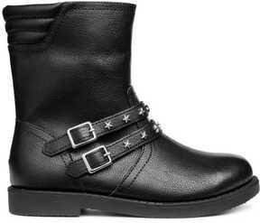 H&M Studded Biker Boots