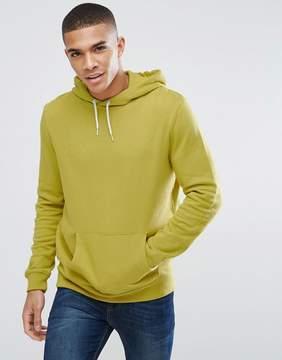 New Look Hoodie In Lime Green