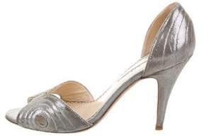 Oscar de la Renta Metallic d'Orsay Sandals