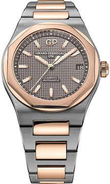 Girard Perregaux Girard-Perregaux 81010-26-232-26A Laureato rose gold and titanium watch