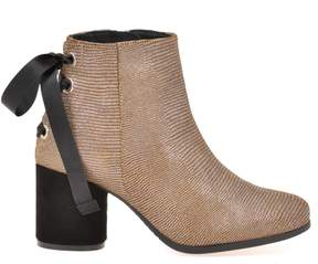 Espadrilles Laura Lizard Ankle Boot