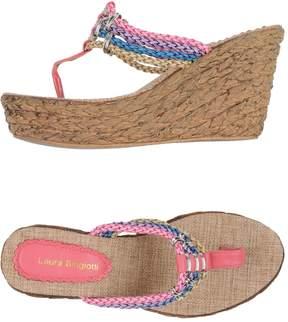 Laura Biagiotti Toe strap sandals