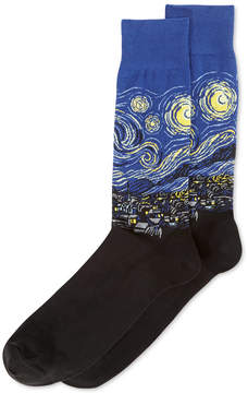 Hot Sox Men's Starry Night Socks