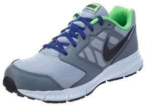 Nike Boy's Downshifter 6 (GS/PS) Athletic Shoe, Wolf Grey/Black-Deep Royal Blue-White, 5.5 M US Big Kid