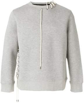 Craig Green lace-up string detail sweatshirt