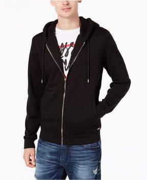 GUESS Men's Zip-Front Hoodie