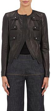 Derek Lam Women's Lambskin Military Jacket