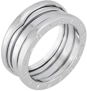 Bvlgari B.zero1 18kt White Gold Three-band Size 8.75 Ring