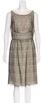 Bill Blass Lace Knee-Length Dress w/ Tags