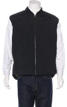 Loro Piana Quilted Storm System Vest