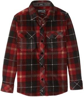O'Neill Boys' Glacier Plaid Flannel Shirt (Big Kid) 8167356
