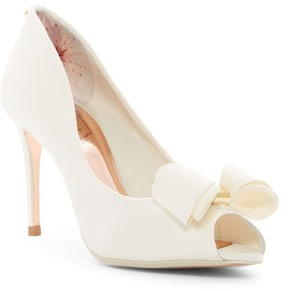 Ted Baker Alifair Bow Peep Toe Pump