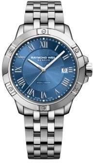 Raymond Weil Tango Blue Dial Stainless Steel Bracelet Watch