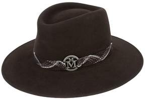 Maison Michel woven bond panama hat