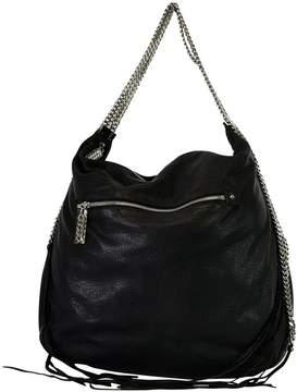 Christian Louboutin Black Marianna Rider Hobo Bag
