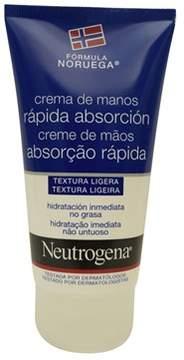 Neutrogena Norwegian Formula Fast Absorbing Hand Cream (75ml) (spanish Label).