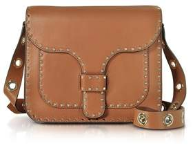 Rebecca Minkoff Women's Brown Leather Shoulder Bag. - BROWN - STYLE