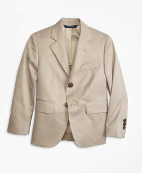 Brooks Brothers Two-Button Cotton Poplin Prep Jacket