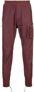Julius zipped cuff track pants