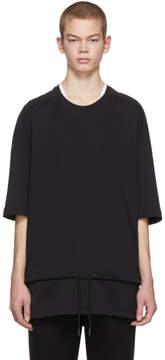 Diesel Black Gold Black Drawstring Waist T-Shirt