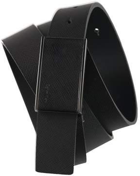 Calvin Klein Mens Plaque Belt