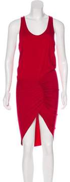 Alexandre Vauthier Jersey Midi Dress