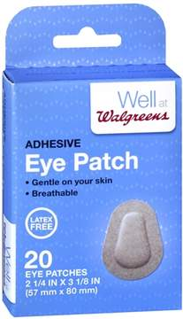 Walgreens Non-Sterile Eye Patches 2.25x3.125 2 1/4 inch x 3 1/8 inch