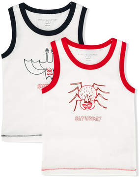 Stella McCartney weekend print vest set